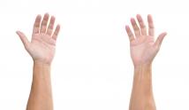 Co oznaczają sine dłonie?